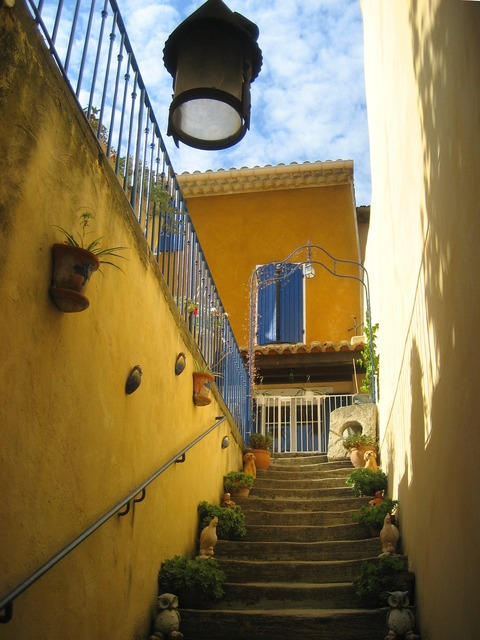 Provence steps france, architecture buildings.