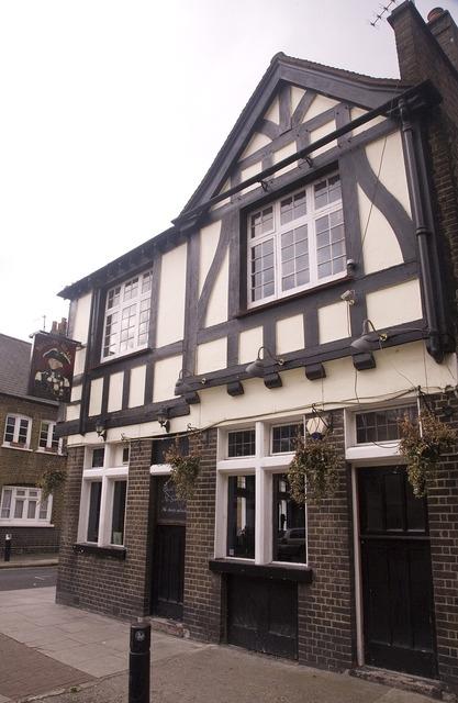 Pub english building, architecture buildings.