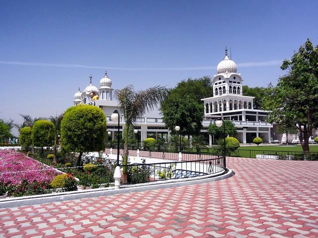 Punjab india temple, religion.