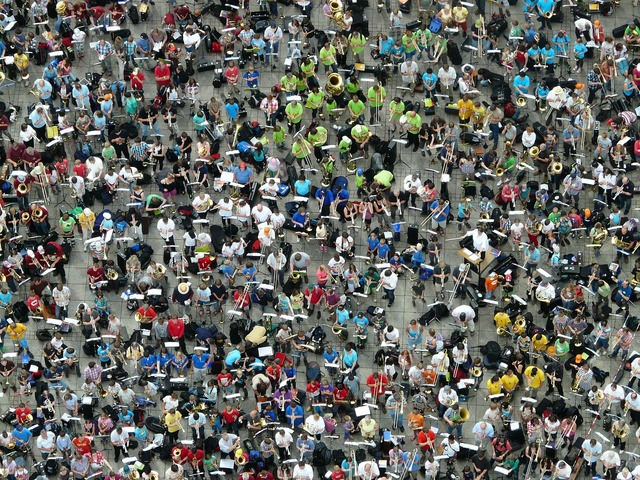 Quantitative mass group, people.