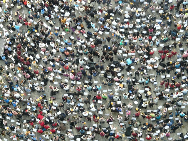 Quantitative mass human, people.