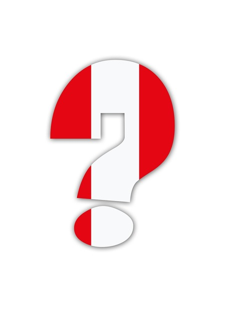 Question mark austria world cup.