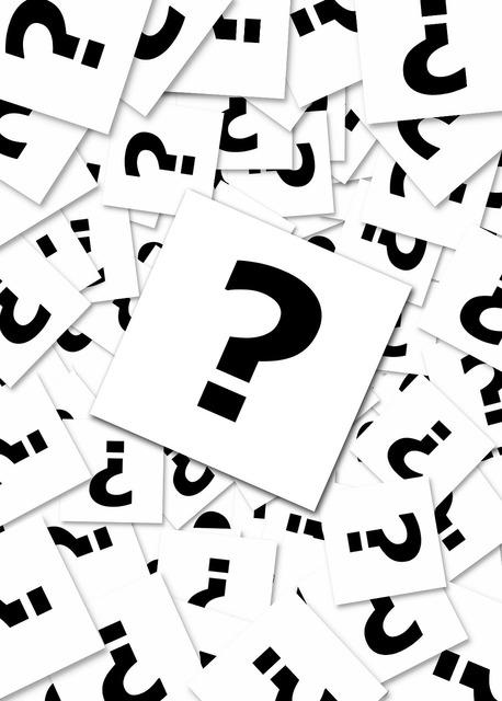 Question mark questions request, education.