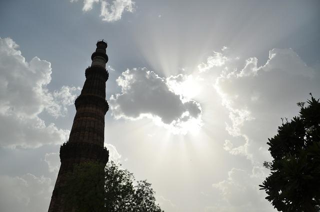 Qutub minar new delhi monument, architecture buildings.