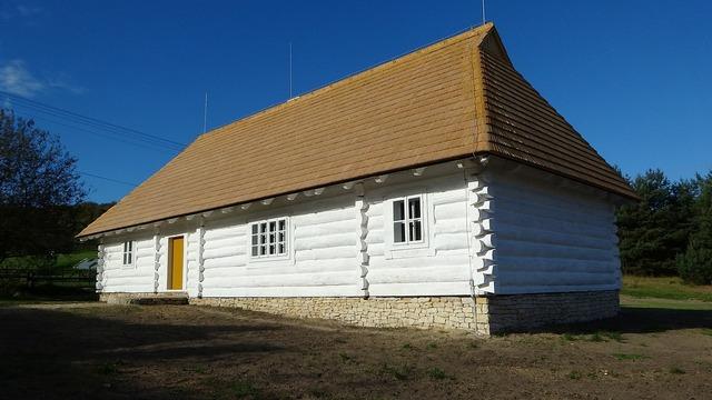 Rabsztyn poland cottage, architecture buildings.