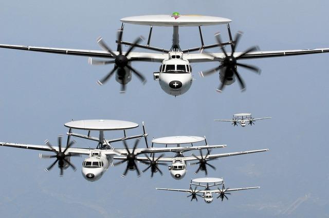 Radar aircraft squadron.