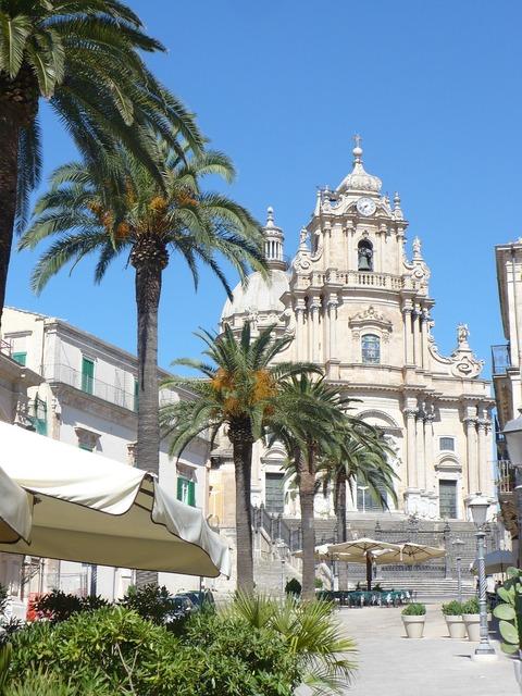 Ragusa ibla sicily church, religion.