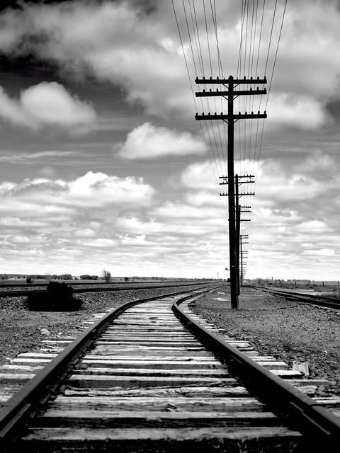 Rail rail track track.
