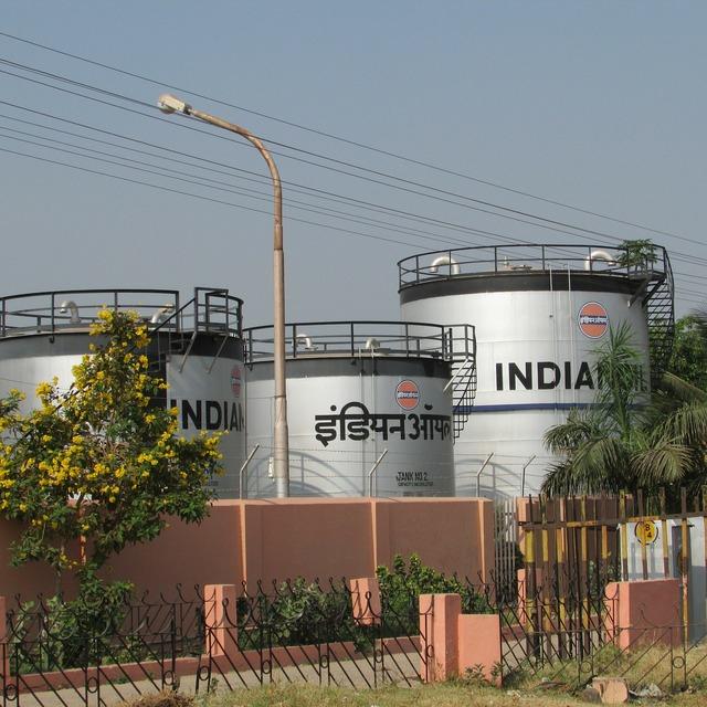 Railway fuel tanks hospet india, industry craft.