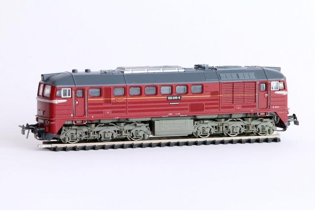 Railway loco diesel locomotive.