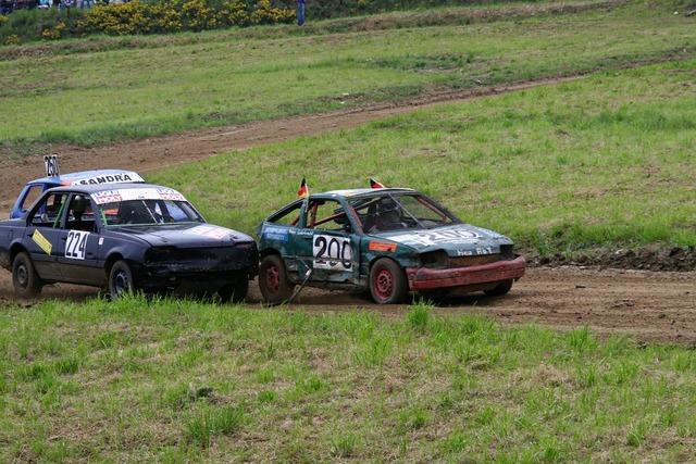 Rally autocross cross, transportation traffic.