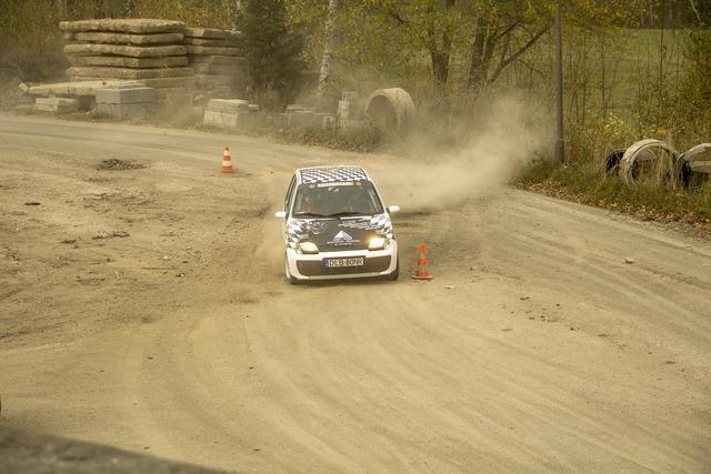 Rally race sport, sports.