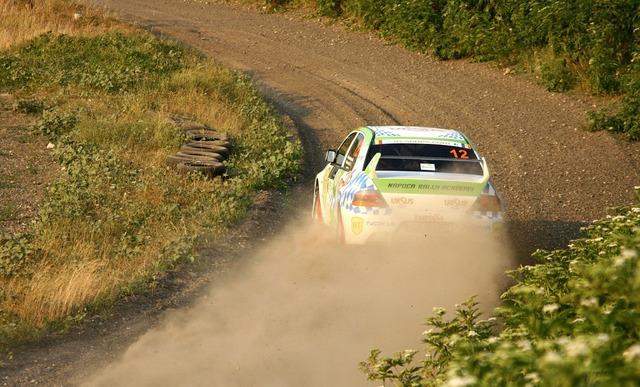 Rally rallycross mitsubishi, sports.