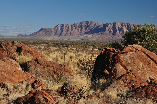 Ranges central australia dry country, nature landscapes.