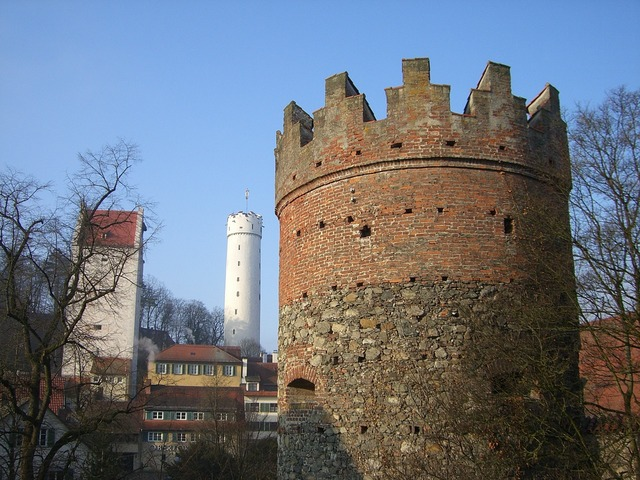Ravensburg downtown middle ages.