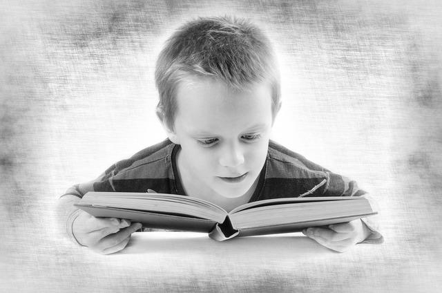 Read book boy, people.