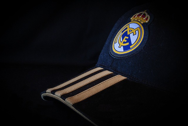 Real madrid cap hat.