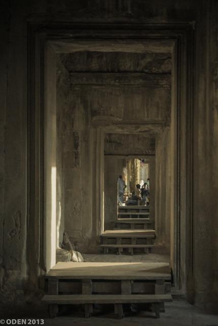 Recursive door infinite, religion.
