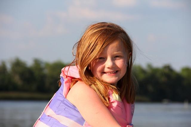 Redhead girl boat girl, people.