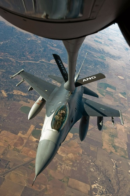 Refuel aerial refueling fuel.