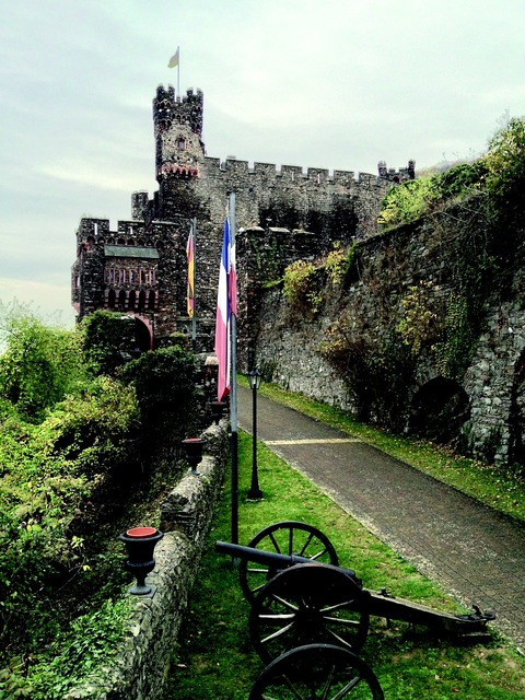 Reichenstein middle ages castle.