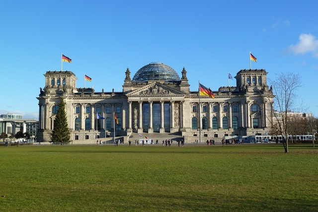 Reichstag building berlin capital.