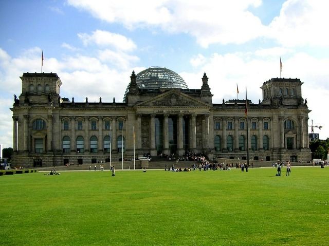 Reichstag glass dome building, architecture buildings.