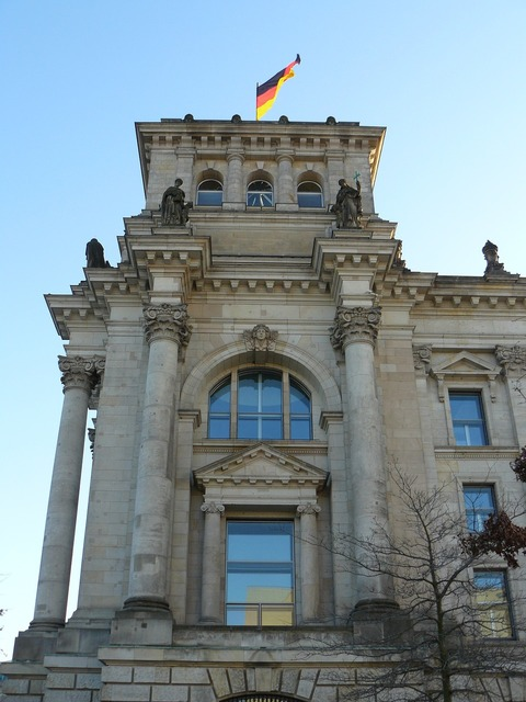 Reichstag government flag.