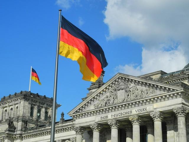 Reichstag the german volke germany.