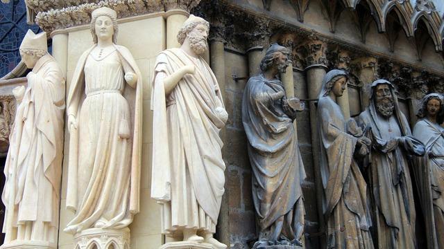 Reims saints france.