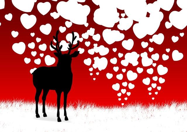 Ren reindeer antler.