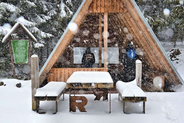 Rennsteig hut mountain hut, sports.