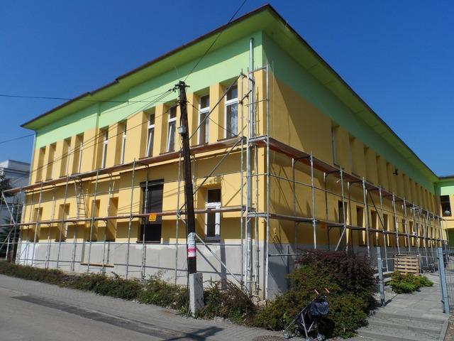 Repair scaffolding building, architecture buildings.