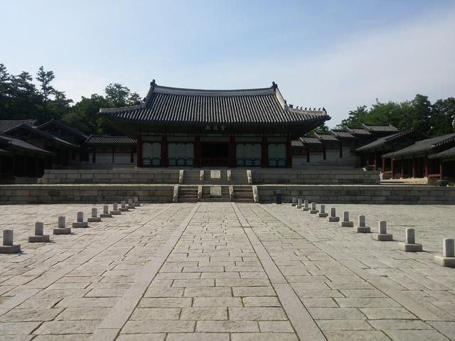 Republic of korea gyeonghuigung palace the noble truce, architecture buildings.