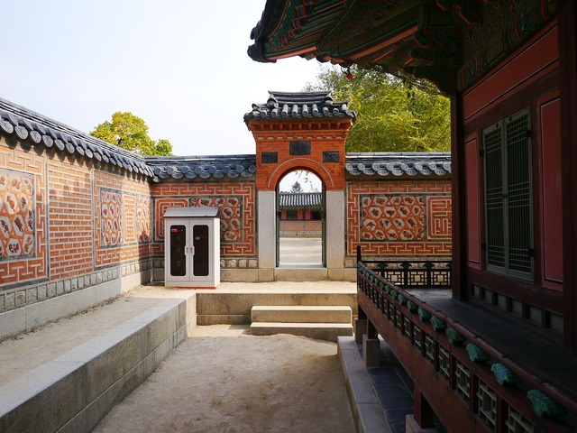 Republic of korea traditional homes for sale, backgrounds textures.