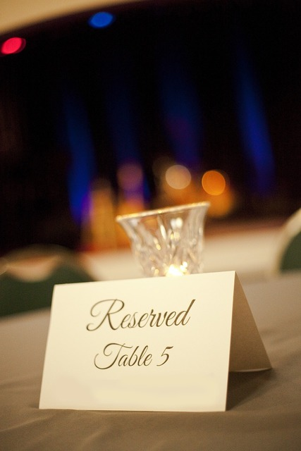 Reservation event table.