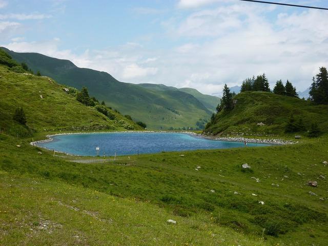 Reservoir alp oekkel parpan.