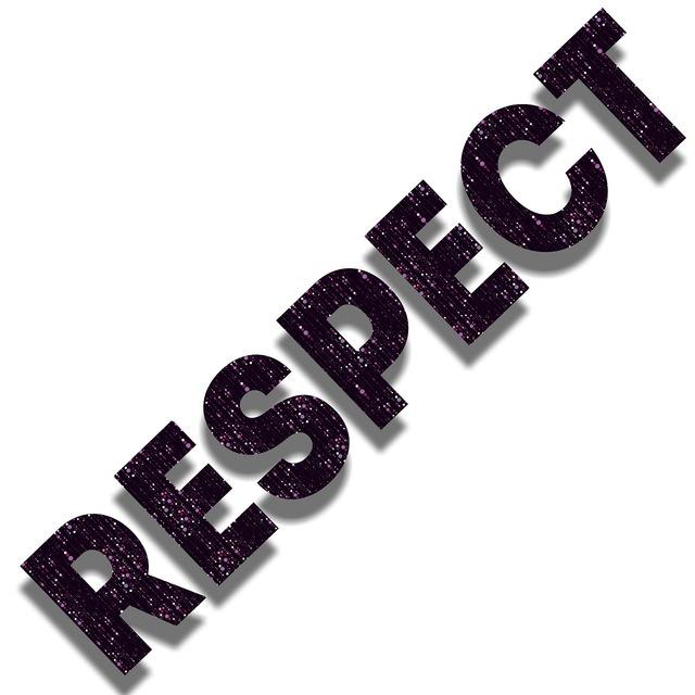 Respect acceptance compassion.