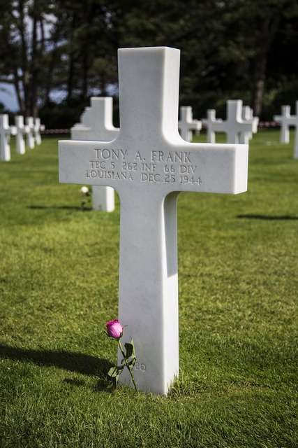 Rest in piece grave wwii.
