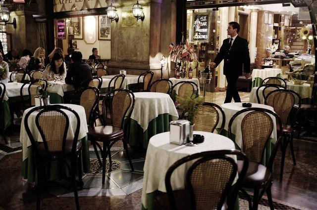 Restaurant milan italy.