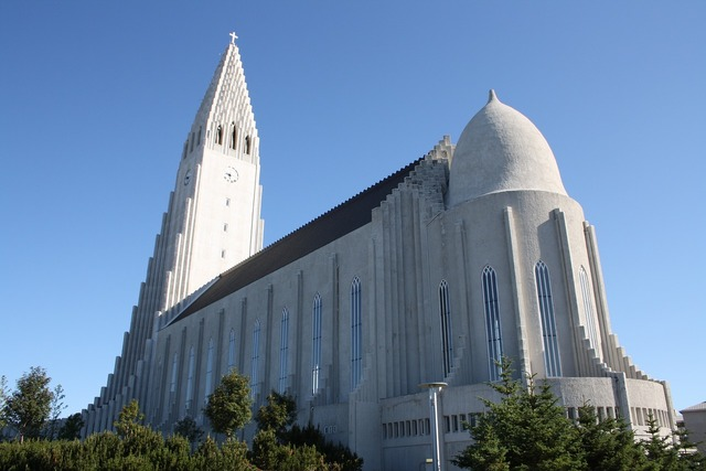 Reykjavik hallgrímskirkja dom, religion.