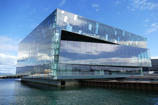 Reykjavik harpa hall, architecture buildings.