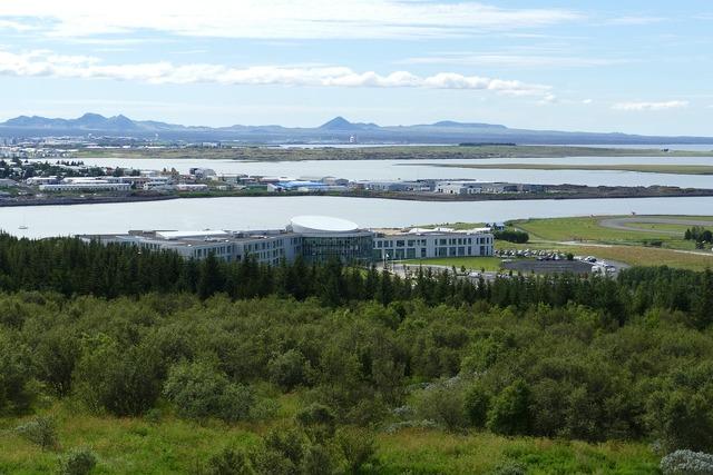 Reykjavik iceland panorama, religion.