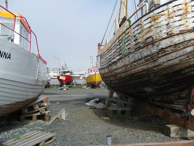 Reykjavik iceland ships.