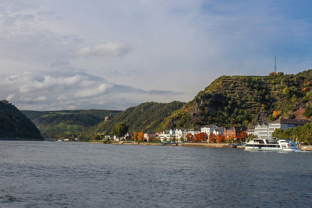 Rhine middle rhine st goar, nature landscapes.