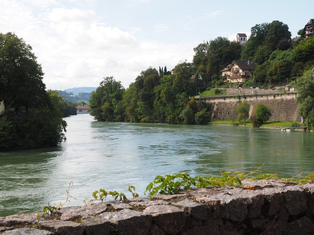 Rhine river laufenburg.