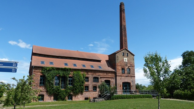 Ribbeck distillery building, architecture buildings.