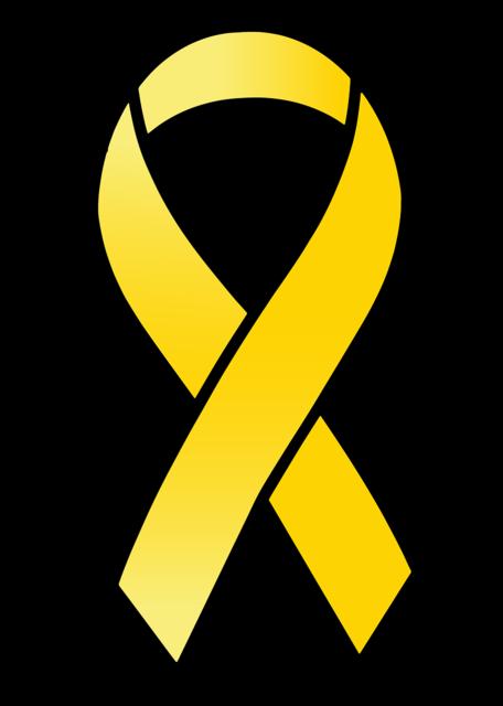 Ribbon satin yellow ribbon, health medical.