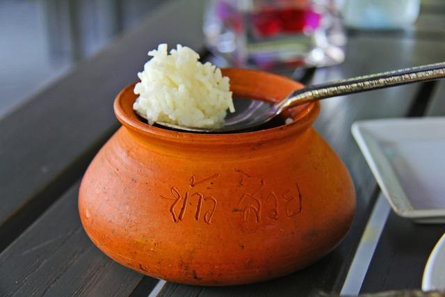 Rice thai bowl.