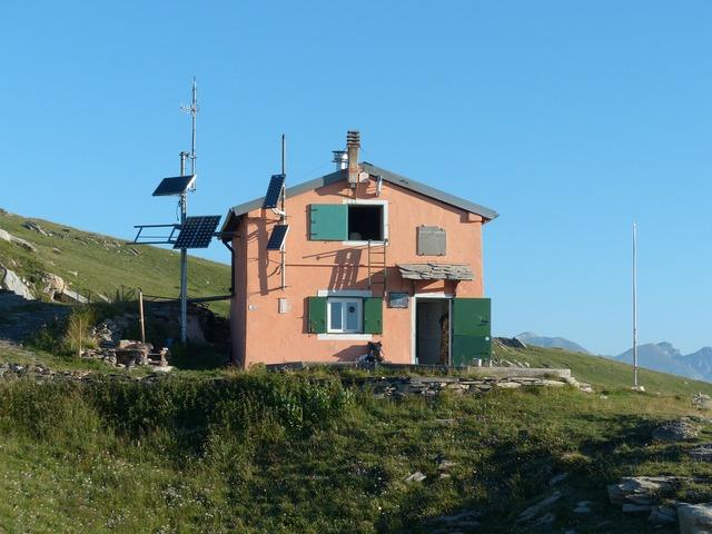 Rifugio sanremo cima della valletta mountain hut, architecture buildings.